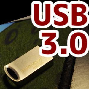 Transcend USBメモリ 32GB USB3.1 & USB 3.0の開封