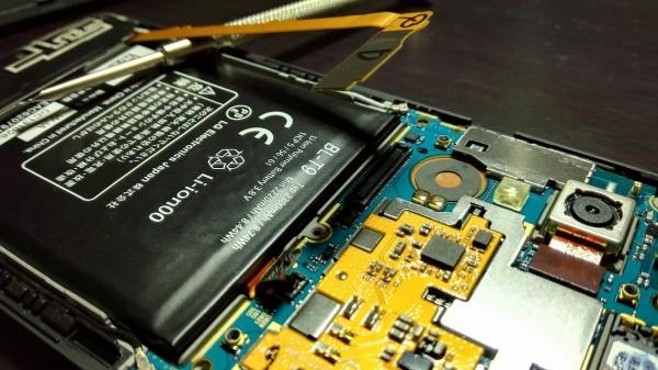 nexus5のバッテリー交換