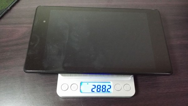 Nexus7 2013を図ってみた