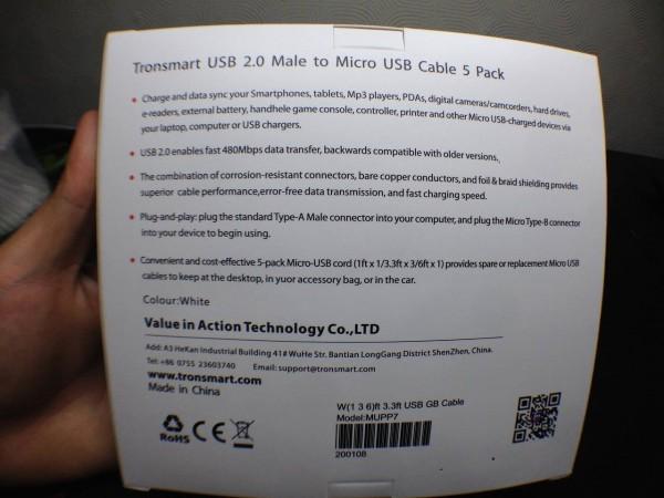 Tronsmart-micro-usb003