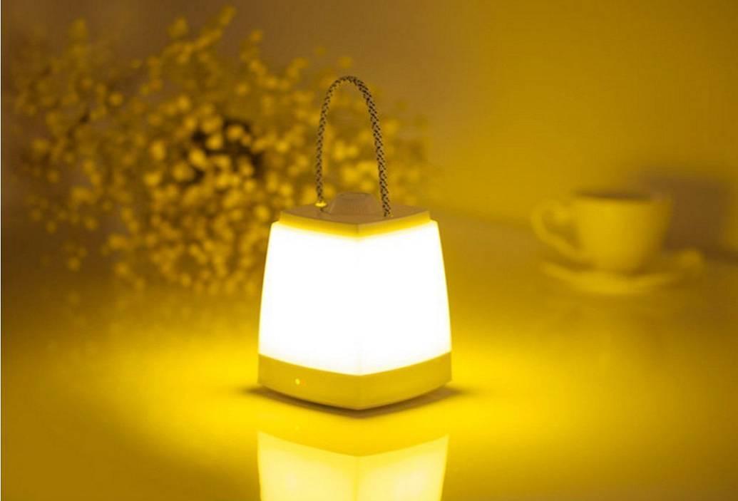 【LED照明】ランタンの様な優しい灯り。充電式のLEDライト。