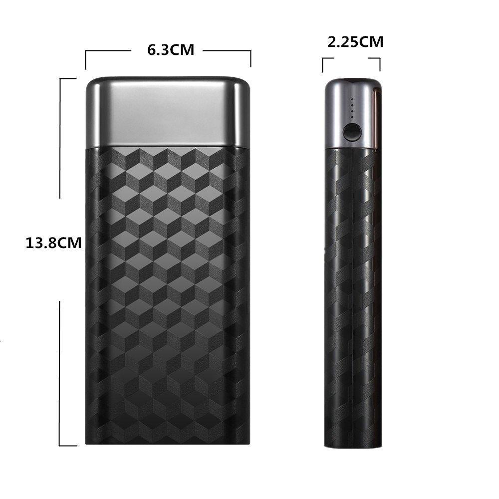 【モバイルバッテリー】めちゃくちゃデザインがかっこいい!けれどお値段は激安の10,000mAhモバブ!