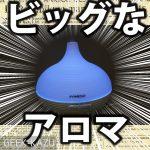 【アロマデフューザー】永沢君の形?タマネギ型の大容量!アロマデフューザー