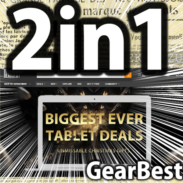 【GearBest】タブレットだらけのお祭り!(BIGGEST EVER TABLET DEALSセール)