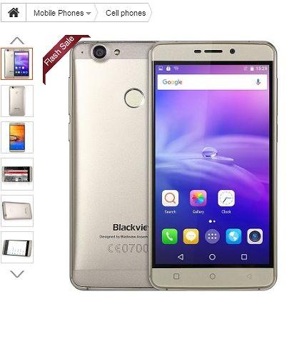【中華スマートフォン】超シンプルでただただ安い!5.5インチ(Blackview R7)