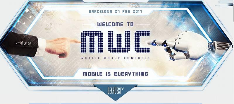 【GearBest・セール速報】バルセロナのMWCの開催を記念してGearBestがセールを開催中!