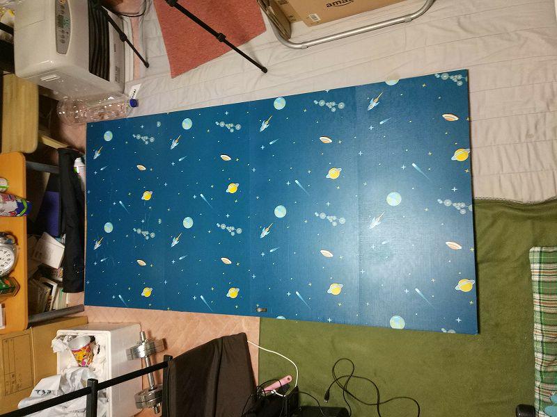【DIY壁紙シール】好きなところに貼り付けて、お手軽にイメージチェンをしてみた。