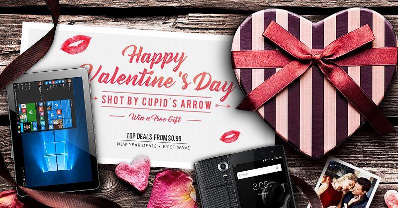 【GearBest・セール速報】バレンタインデーセールと抽選でスマホが当たるぞ!