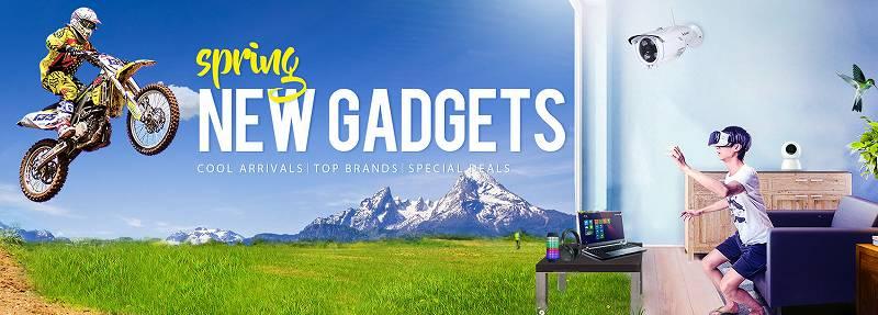 【GearBest・セール速報】アクションカメラの新機種が安い!春の新しいガジェットセール!