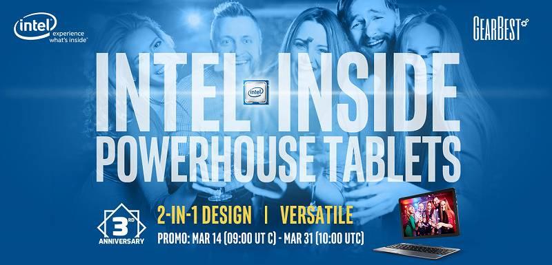 【GearBest・セール速報】タブレットを買うとキーボードがついてくるぞ!Intel Tabletタブレットセール開催中!