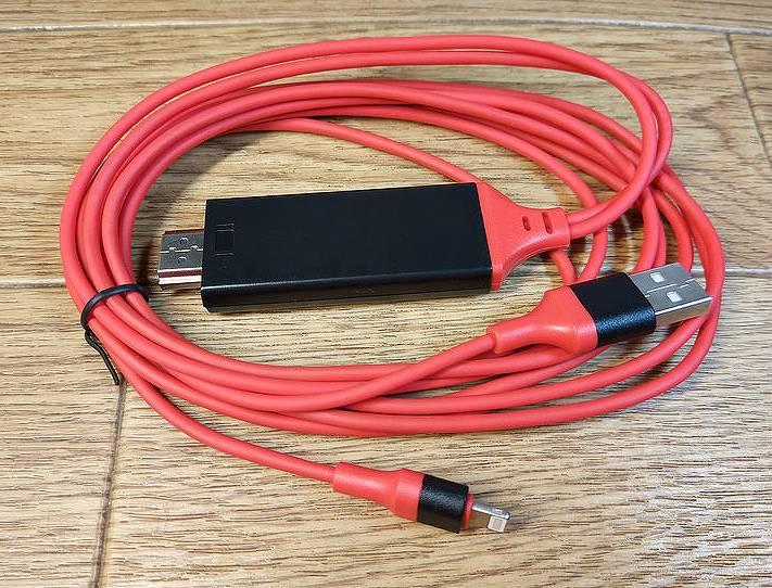 【Lightning to HDMI】iPhoneやiPadを有線でテレビに繋げられるケーブル