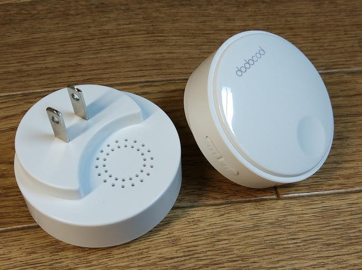 【ワイヤレスチャイム】無線タイプで、バッテリー不要のチャイム!(dodocool)