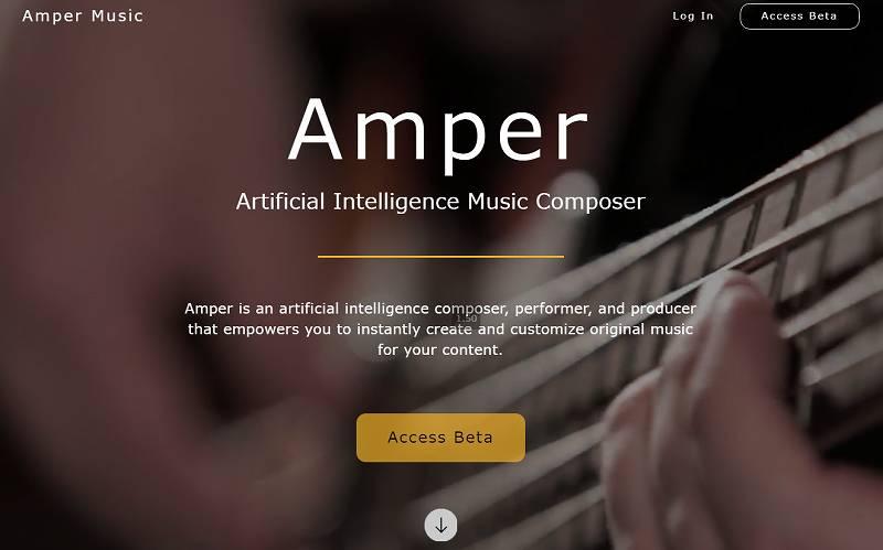 完全オリジナル音楽をAIが自動で作曲してくれるAmper Musicがすごい!