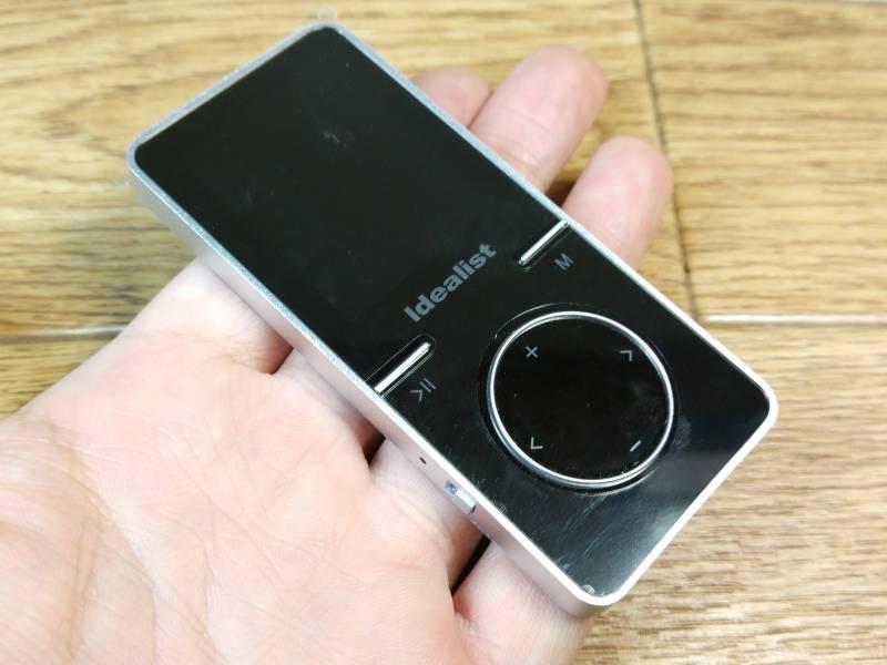【MP3プレイヤー】合金素材のガッシリ系音楽プレイヤー。(S183)
