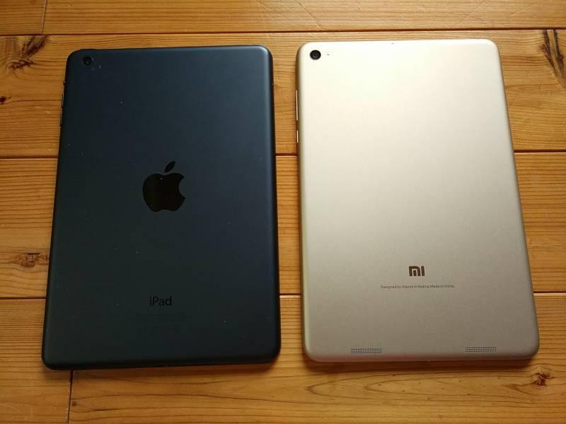【中華タブレット】Xiaomi Mi Pad3とiPad miniを比較してみたよ。