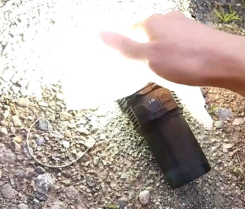 【超強力懐中電灯】8500lmの力で、火を起こせるか検証してみた(IMALENT DT35 8500)