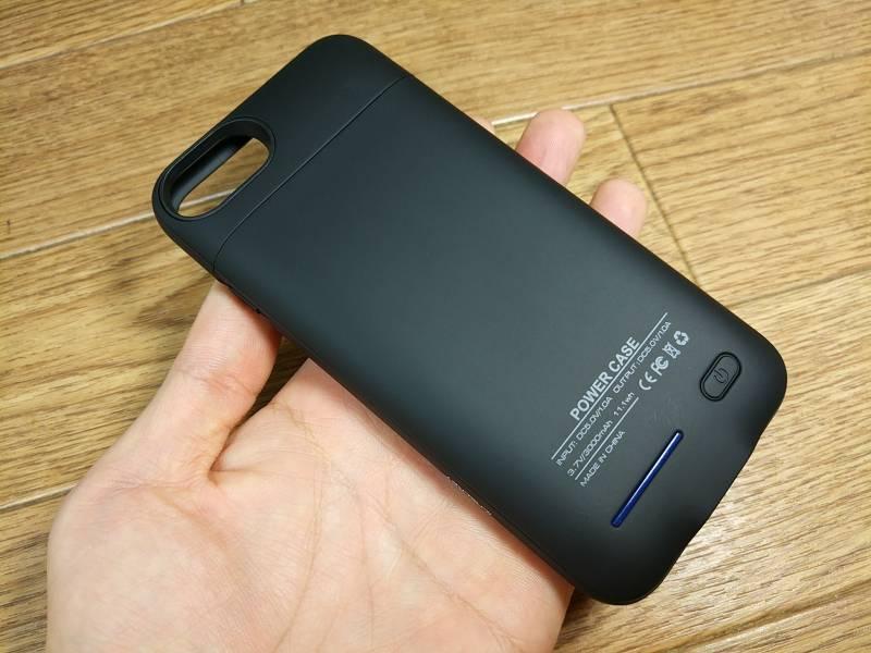 【iPhone 6/6s/7バッテリーケース】ぴったりフィットでかっこいいデザインだね。