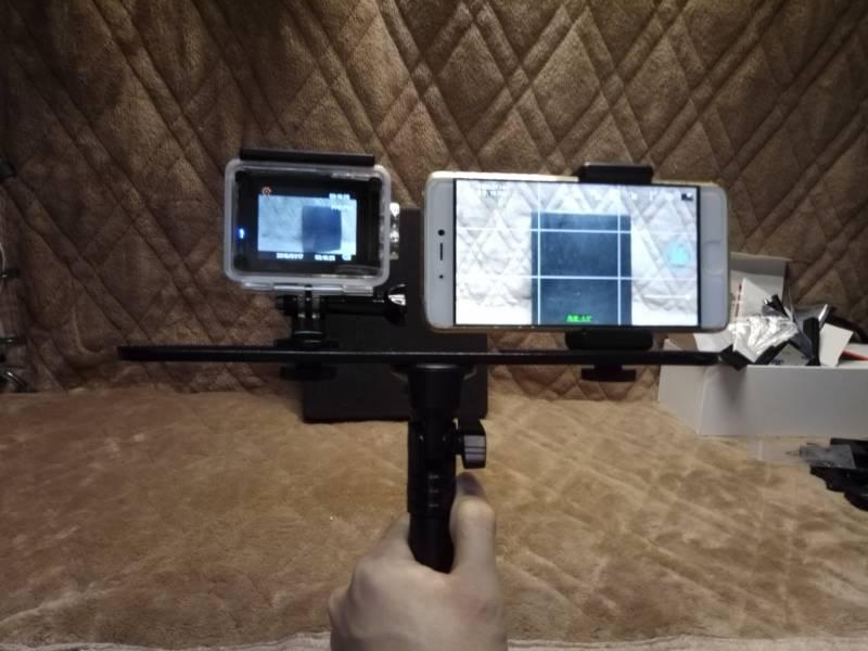 【中華GoPro】Elecam Explorer EliteとXiaomi Mi5Sの手ぶれ補正比較(フラッシュブラケット)