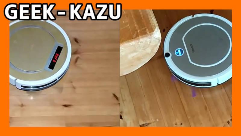 【中華ロボット掃除機】ロボット掃除機決定戦!どっちがゴミをかき集められるか勝負だ!(ILIFE X5 vs fmart FM R330)