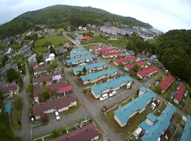 【ドローン・VISUO XS809W】山の上から空撮してみた。