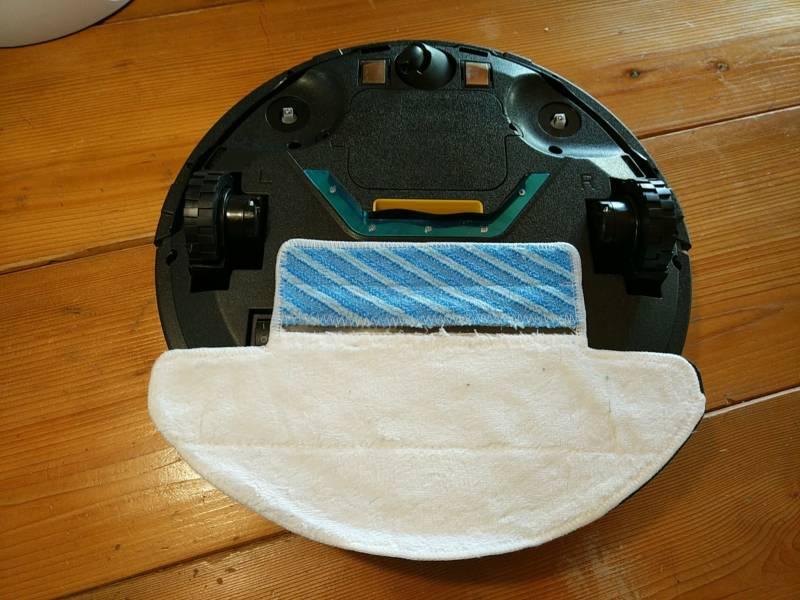 【中華ロボット掃除機・fmart FM R330】水拭き機能を検証