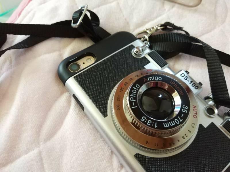 【iPhone7ケース】レトロなフィルムカメラにそっくり!おしゃれすぎるケースがかっこ良い!(Nowest)