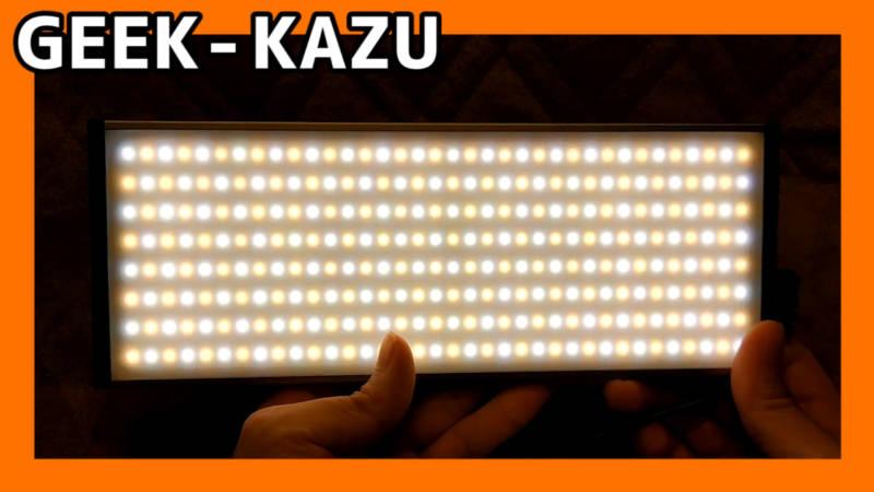 【288球 LED照明】脅威の3000ルーメンの照明!!映像・写真を撮るなら、用意しておきたいガジェットNo1