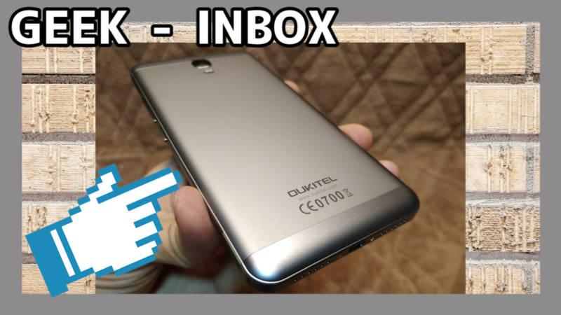 【スマートフォン・OUKITEL K6000 Plus】6080mAhバッテリー搭載の大容量モデル!(開封レビュー編)