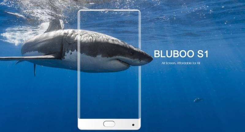 【中華スホ・Bluboo S1】狭額縁ベゼルスマホは、Xiaomi Mi MIXだけじゃないぞ!
