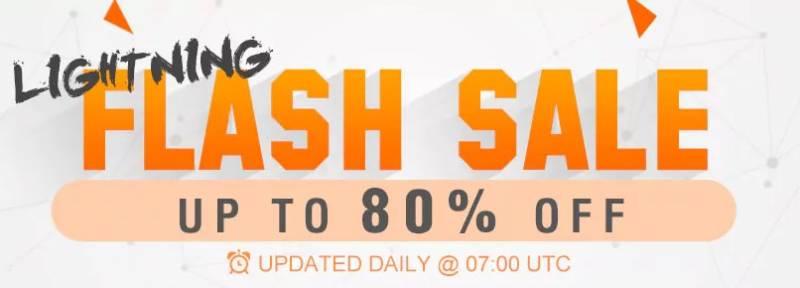 【GearBest・セール速報】最大80%OFFのFLASH SALE開催中ヽ(^ω^)ノ