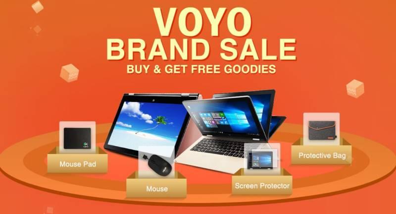 【geekbuying・セール速報】VOYOのブランドが大セール中!10.1インチタブが1万ちょいで買えちゃうよヽ(^ω^)ノ
