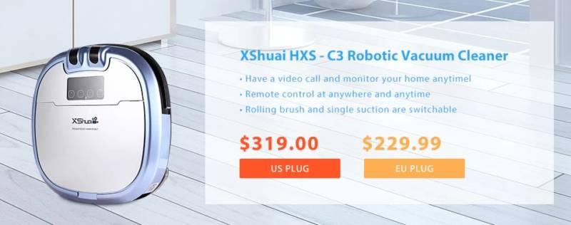 【GearBest・セール速報】あのハイアールのロボット掃除機がついに登場!
