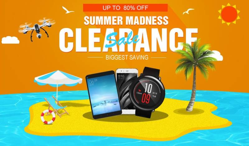 【geekbuying・セール速報】夏のスマホタブレットセール開催中♪ Summer Madness Clearanceセール