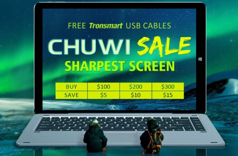 【geekbuying・セール速報】中華タブレットの巨匠Chuwi製品のセールが開催中!