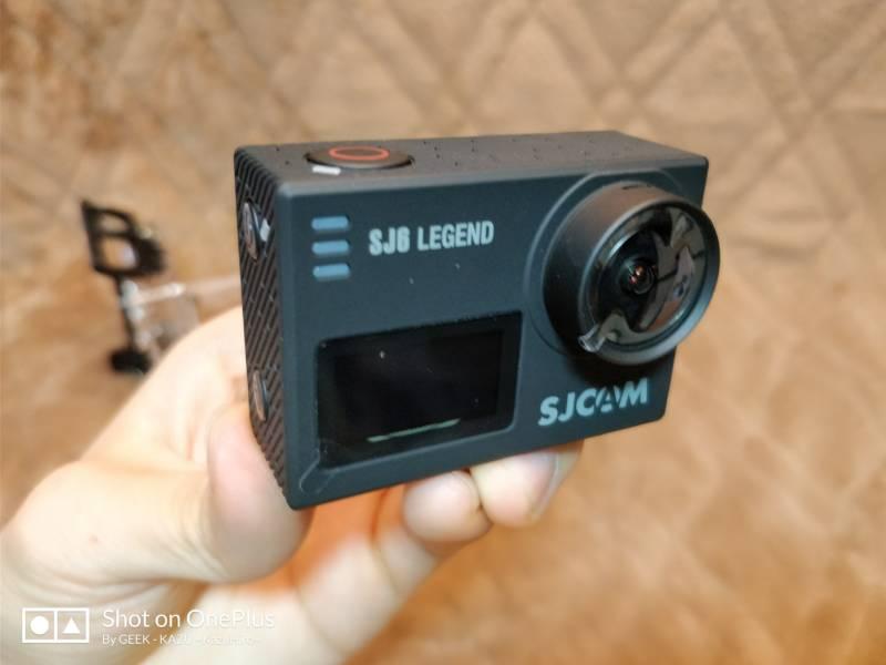 【アクションカメラ・SJCAM SJ6 LEGEND】中華GoProの老舗の本気のスポーツカメラ!(開封編)