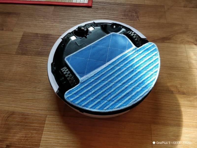 【ILIFE V7S Pro・ロボット掃除機】水拭き機能がすごい便利!更に静音性も抜群!
