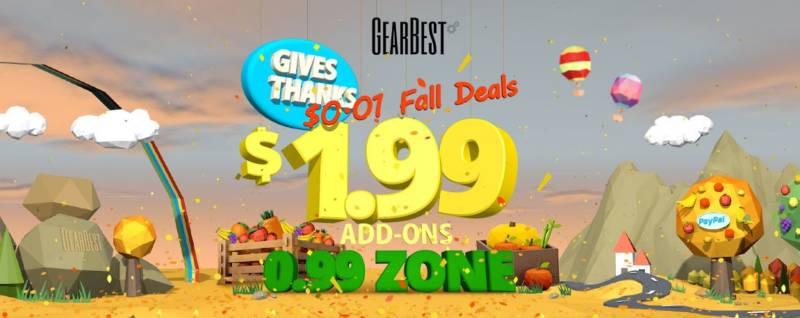 祭り当日よりも安いガジェットが普通にあるぞ!!【GearBest・9月の大セール】24日まで
