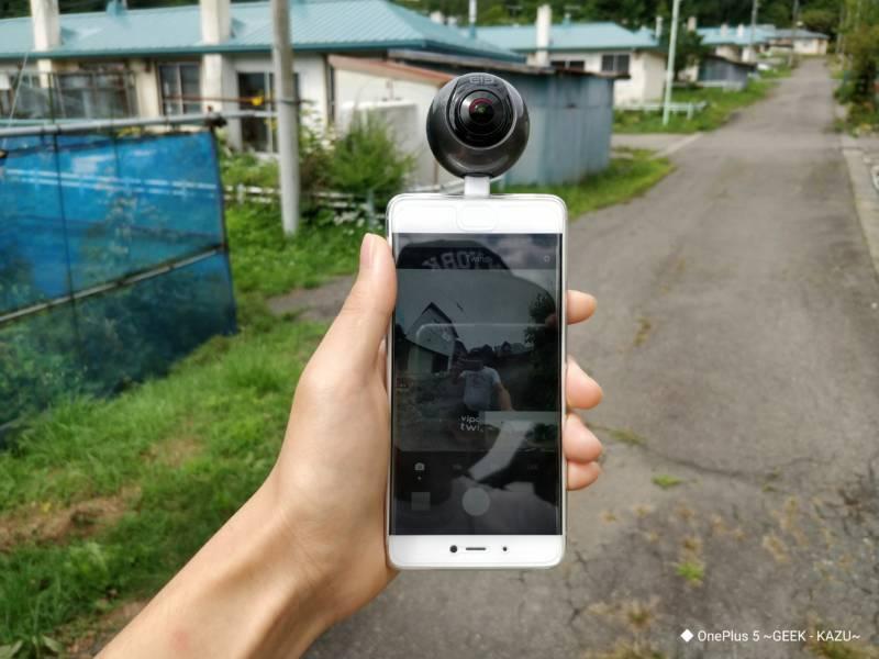 なかなか綺麗だ!実用的な画質!映像・写真検証編【Elephone REXSO 720・360度カメラ】