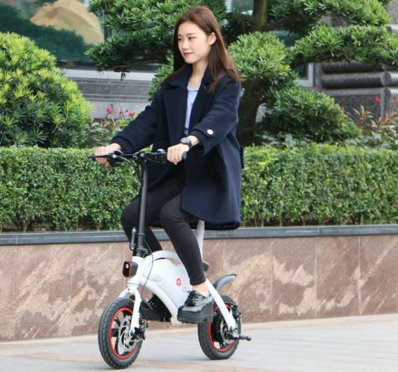 モンキーバイクの様な電動バイクが素晴らしい!【F – wheel DYU Electric Bike】