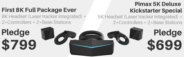 Oculus Rift , HTC Viveは今買うべきではない最大の理由!最新のVRヘッドセットがついに登場!【PIMAX 8K】