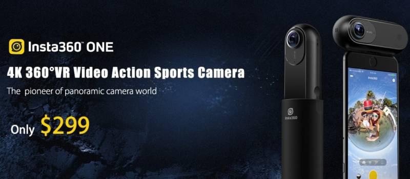 Insta360 Oneを世界一安く買えるセールが開催中【TOMTOPセール速報】