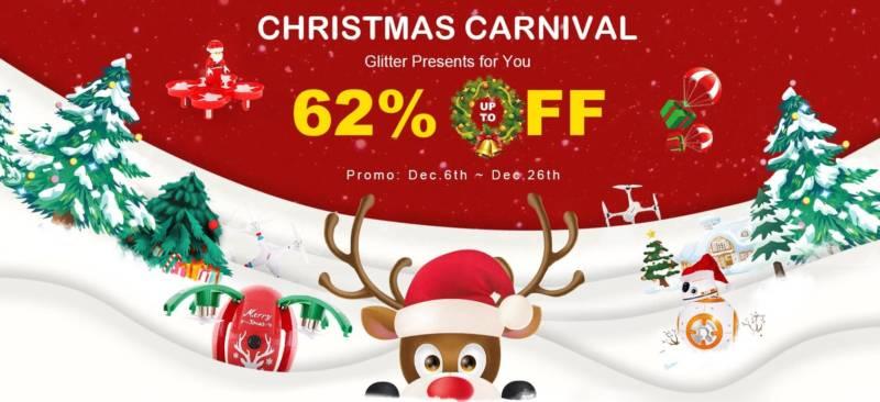クリスマスは海外通販で激安ドローンを買おう!【RCmomentクリスマスセール速報】