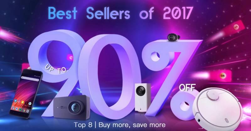 2017年で最も売れたガジェット【geekbuying・セール速報】