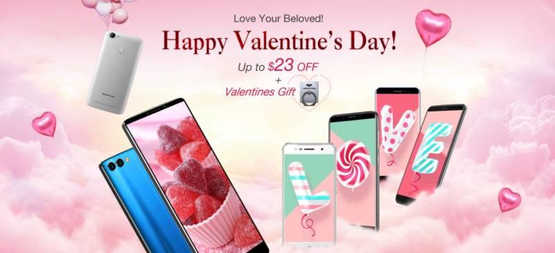 2018年はバレンタインデーにスマホをプレゼントするのが流行るらしいぞ!【geekbuying・セール速報】