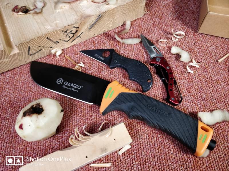 アウトドアナイフを買うなら使いたいサイトはここだ!【GearBestアウトドアナイフ , 開封レビュー】