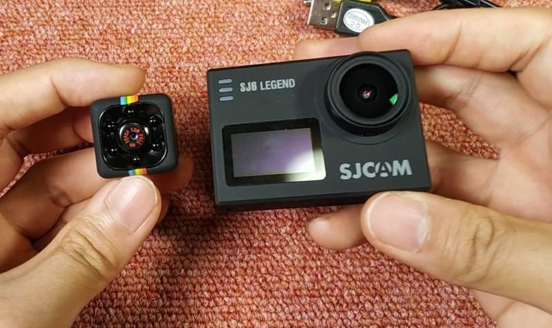 世界一安くて小さなアクションカメラの開封レビュー動画【Quelima SQ11 Mini Camera】