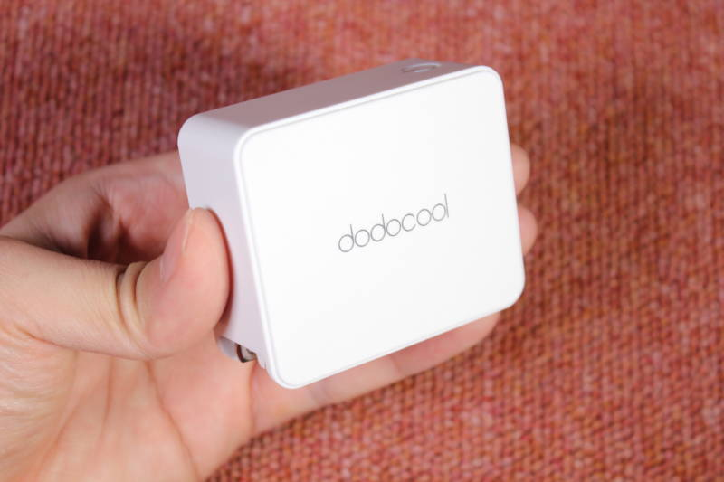 45Wの高出力でMacBookを素早く充電できる充電器の開封レビュー【PD充電器 急速充電 , dodocool】