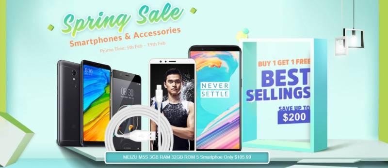 XiaomiとOnePlusが最安値セール!【geekbuying・セール速報】