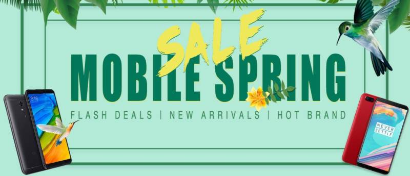 Geekbuying Mobile Spring Sale