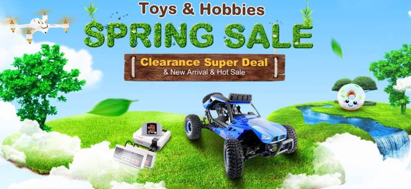 TOMTOP Spring sale toy hobbies (1)